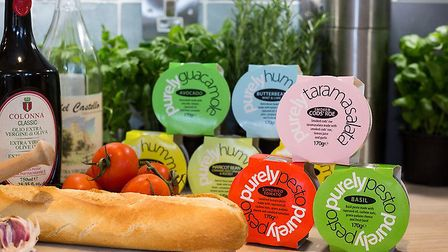 Local dips can be found in the chiller of East of England Co-op stores Picture: East of England Co-