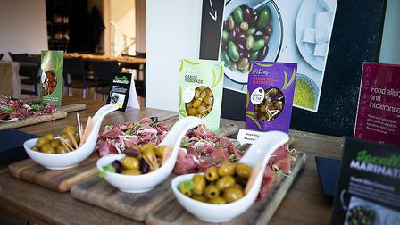 These olives are blended with herbs and spices in Suffolk Picture: East of England Co-op
