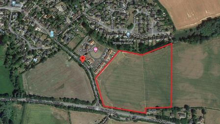 The homes plan for Boxford has proved controversial Picture: GOOGLE MAPS