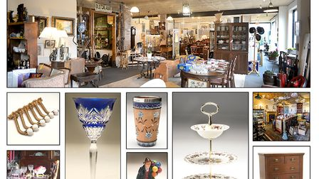 Suffolk Heritage boasts an eclectic mix of items from a range of specialist antiques dealers. Image: