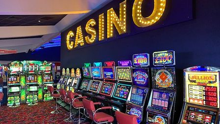 The slot and fruit machines on Clacton Pier have been prepared for customers with increased cleaning