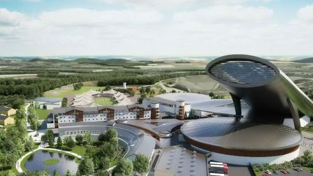 An artist's impression of SnOasis, where there have been reports of anti-social behaviour. Picture