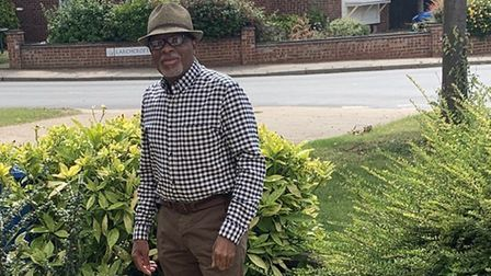 Charles Challenger moved to the UK from Antigua and is now the chairman of Ipswich's Windrush Select