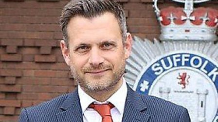 Detective Superintendent David Henderson of Suffolk police Picture: SUFFOLK CONSTABULARY