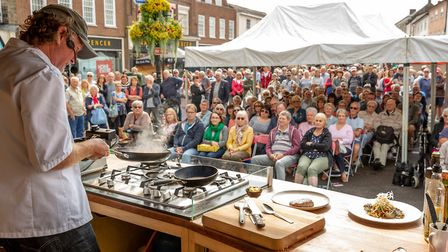 The Bury St Edmunds Food and Drink Festival was due to take place this August bank holiday weekend.