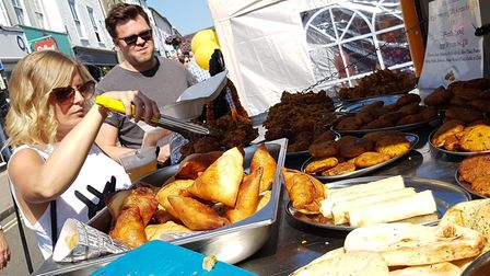 The Bury St Edmunds Food and Drink festival was cancelled due to Covid-19 restrictions. PICTURE: RAC