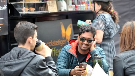 Thousands of people visit the Bury St Edmunds Food and Drink festival each year, making social dista