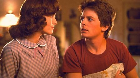Marty McFly travels back in time and meets his mother as a promiscuous teenager in Back to the Futur