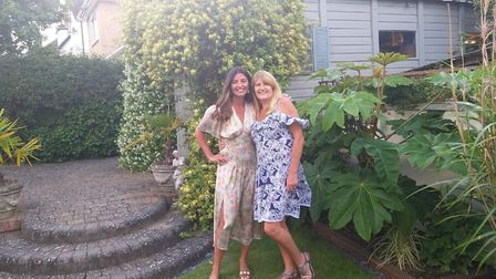 Melissa Chalmers and Jayne Stokes who have bubbled up and are behind the open gardens event Picture: