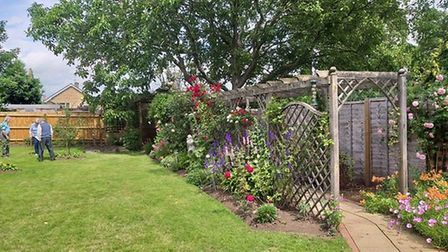 The open gardens in Norfolk Road, Bury St Edmunds, raised more than £600 for St Nicholas Hospice Car