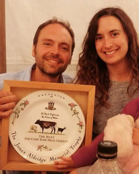 Jonathan and Dulcie Crickmore of Fen Farm Dairy at Flixton have won several awards for their dairy p