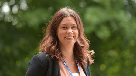 Head Teacher of Woolpit Primary Academy Sarah Clayton Picture: SARAH LUCY BROWN