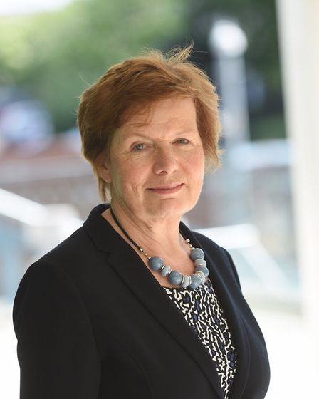 Suffolk County Council cabinet member for education, Mary Evans. Picture: GREGG BROWN