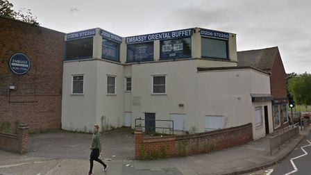 The former Chinese buffet in Balkerne Hill, close to Colchester police station, had an application t