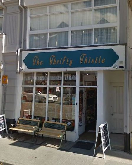 The Thrifty Thristle in Felixstowe will close permanently from next week, Picture: GOOGLE MAPS