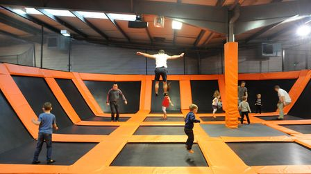Plans have been revealed to open a Bounce trampolining and entertainment centre in 50,000 sq ft of t