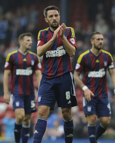 Cole Skuse in the 2015/16 Barcelona kit at Blackburn. Picture: PAGEPIX