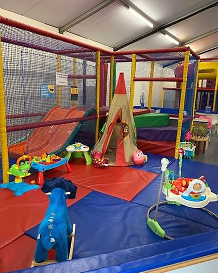 The soft play area at Tumbledown soft play in Stonham Barns. Picture: TUMBLEDOWN