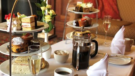 The Orwell Hotel's afternoon tea is back - and includes a selection of scones, sandwiches and savour