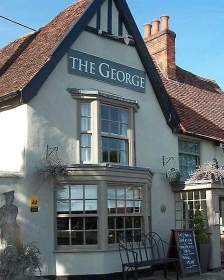 The George in Cavendish Picture: The George