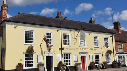 Battleburys at The Kings Head in Hadleigh will be reopening at 8am on Saturday 4 July Picture: Archa
