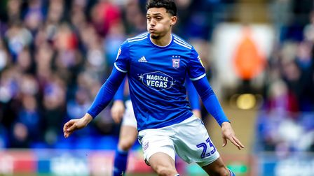 Andre Dozzell is now in the final year of his Ipswich Town contract. Photo: Steve Waller