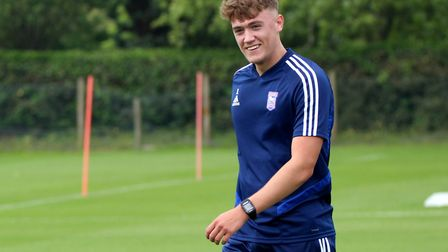 Jack Lankester is contracted at Ipswich Town until 2022. Photo: Ross Halls