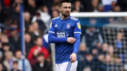 Ipswich Town's Gwion Edwards has been linked with a move to Sunderland or Oxford United Picture: ROS