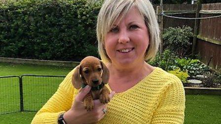 Cystic fibrosis sufferer Sammie Read, of Mendlesham, has welcomed the NHS England deal to begin usin
