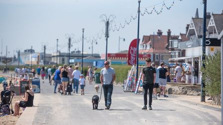 Visitors are expected to flock to east Suffolk towns, such as Felixstowe, as the hospitality sector