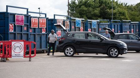 Foxhall Recycling Centre will now accept vans, trailers and trade waste alongside 10 other tips acro