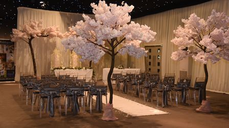 The Hangar at Milsoms, Kesgrave Hall would usually be at the peak of wedding season, however due to