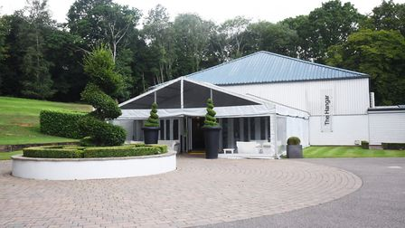 The Hangar at Milsoms, Kesgrave Hall should be busy with weddings Picture: CHARLOTTE BOND