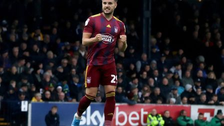Ipswich Town would love to sign Luke Garbutt permanently this summer Picture: ROSS HALLS