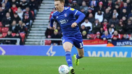Jon Nolan is now contracted at Ipswich Town until 2022. Picture: ROSS HALLS