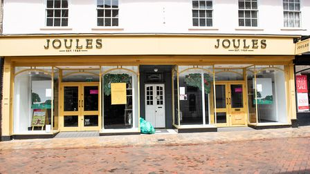 The Joules store in Ipswich town centre will not open next week Picture: SARAH LUCY BROWN
