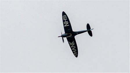 Trudie Stirland was lucky enough to capture not one but two amazing photographs of the Spitfire Pict