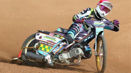 Danny Ayres in action Picture: Carol Downie