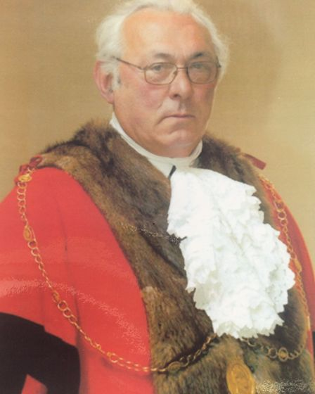 Stefan Oliver was the sixth generation of his family to serve as mayor in Bury St Edmunds. Picture: