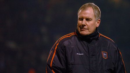 Joe Royle twice led Ipswich Town to the play-offs Picture: ARCHANT