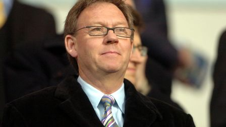 """Ipswich Town director Richard Moore, who said he is """"deeply saddened"""" by Mr Hope-Cobbold's passing"""