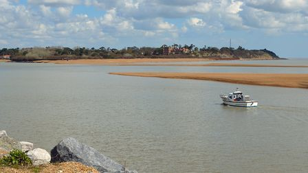 Estuary of the River Deben at Felixstowe Ferry Picture: Getty Images