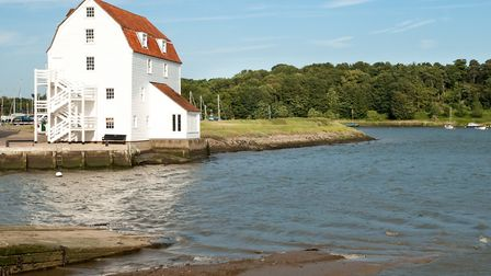 Woodbridge's Tide Mill on the River Deben Picture: Getty Images