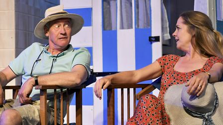 Paul Ansdell and Emma Keele in The End of the Line in 2019 Photo: Peter Clark