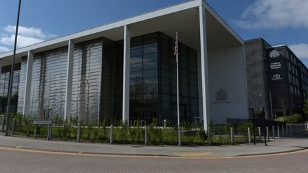 Aaron Johnson appeared via video link at Ipswich Crown Court Picture: SARAH LUCY BROWN