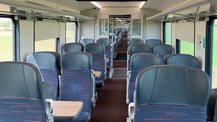 Trains have been running almost empty since March. Picture: Nathan Long/Greater Anglia