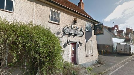 Plans have been submitted to change the Dukes Head pub in Coddenham into a house. Picture: GOOGLE MA