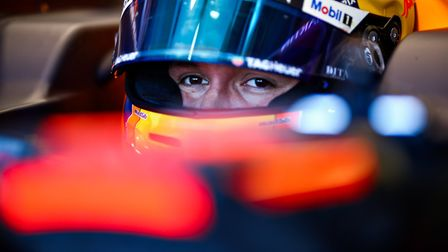 Alex Albon will be back racing for Red Bull in Austria this weekend Picture: MARK THOMPSON /GETTY IM