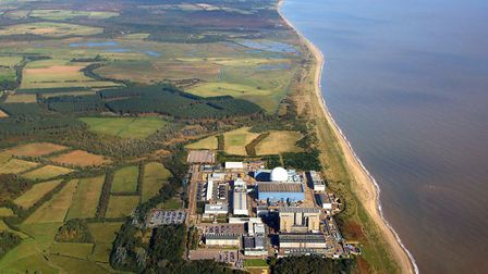 Sizewell C would be built to the north of the existing nuclear site - using land that is essentially