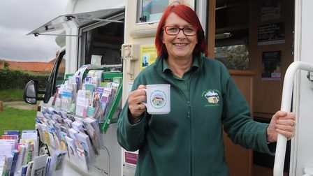 Ann Osborn, who runs the Rural Coffee Caravan, will be one of the expert panellists Picture: ARCHAN